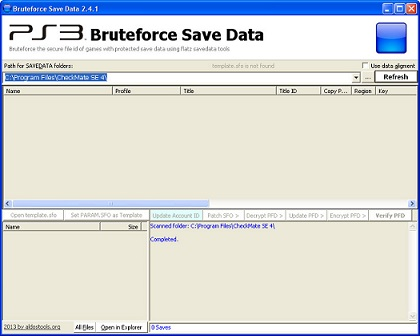 how to use bruteforce ps3